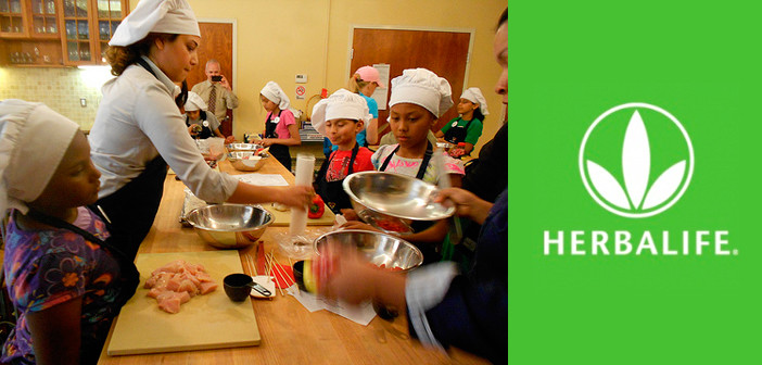 Herbalife patrocina programas de nutrición en escuelas