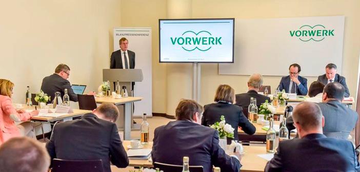 Las ventas de Vorwerk durante el 2016 subieron un 4,1% a 3,100 millones de euros