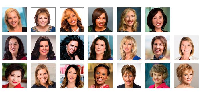 Las 20 mujeres más influyentes del mercadeo en red y la venta directa