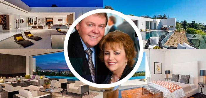 Así es la casa que Randy Ray y Wendy Lewis poseen en Beverly Hills