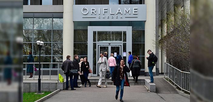 Las ventas de Oriflame subieron durante todo el año 2017