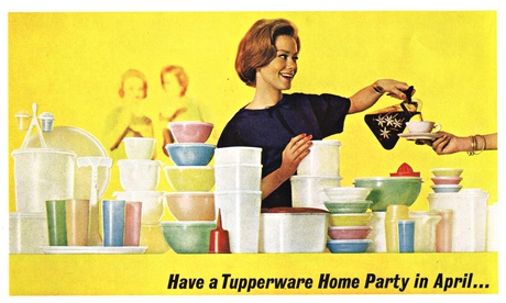 A Tupperware magazine advertisement
