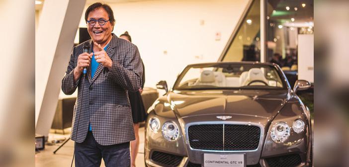 Kiyosaki defiende mercadeo en red como uno de los mejores negocios