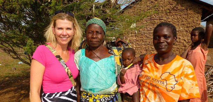 Labor social de doTERRA en África.