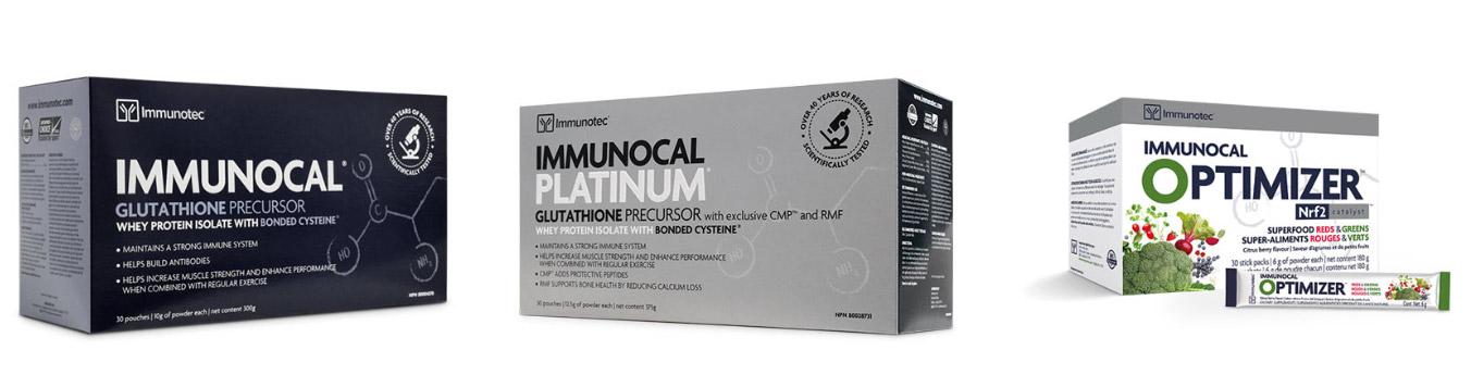 Productos de salud y bienestar de Immunotec