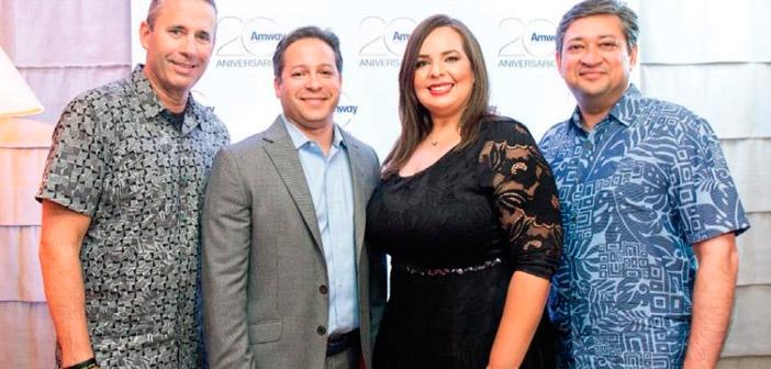 Amway festeja su 20 aniversario en este país latino