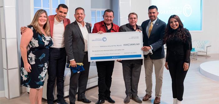 MONAT recauda más de $100,000 dólares a través de esta iniciativa