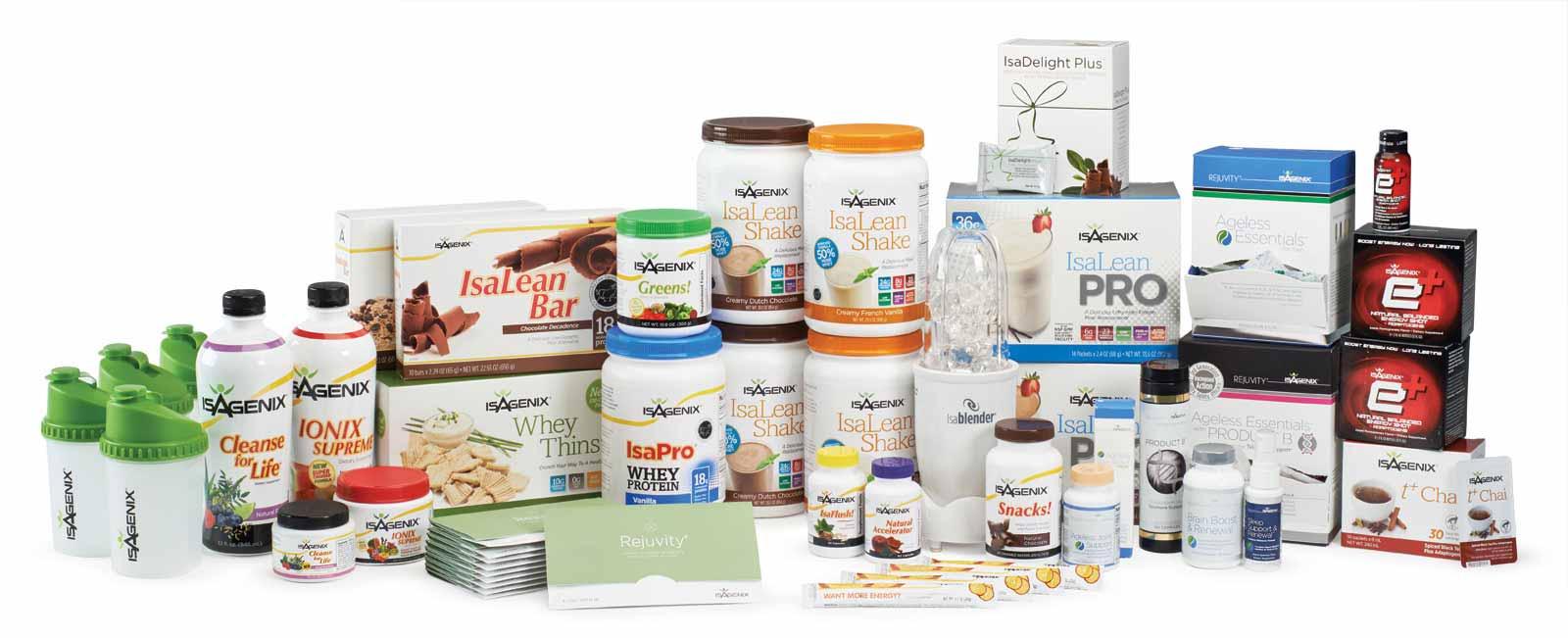 Productos Isagenix