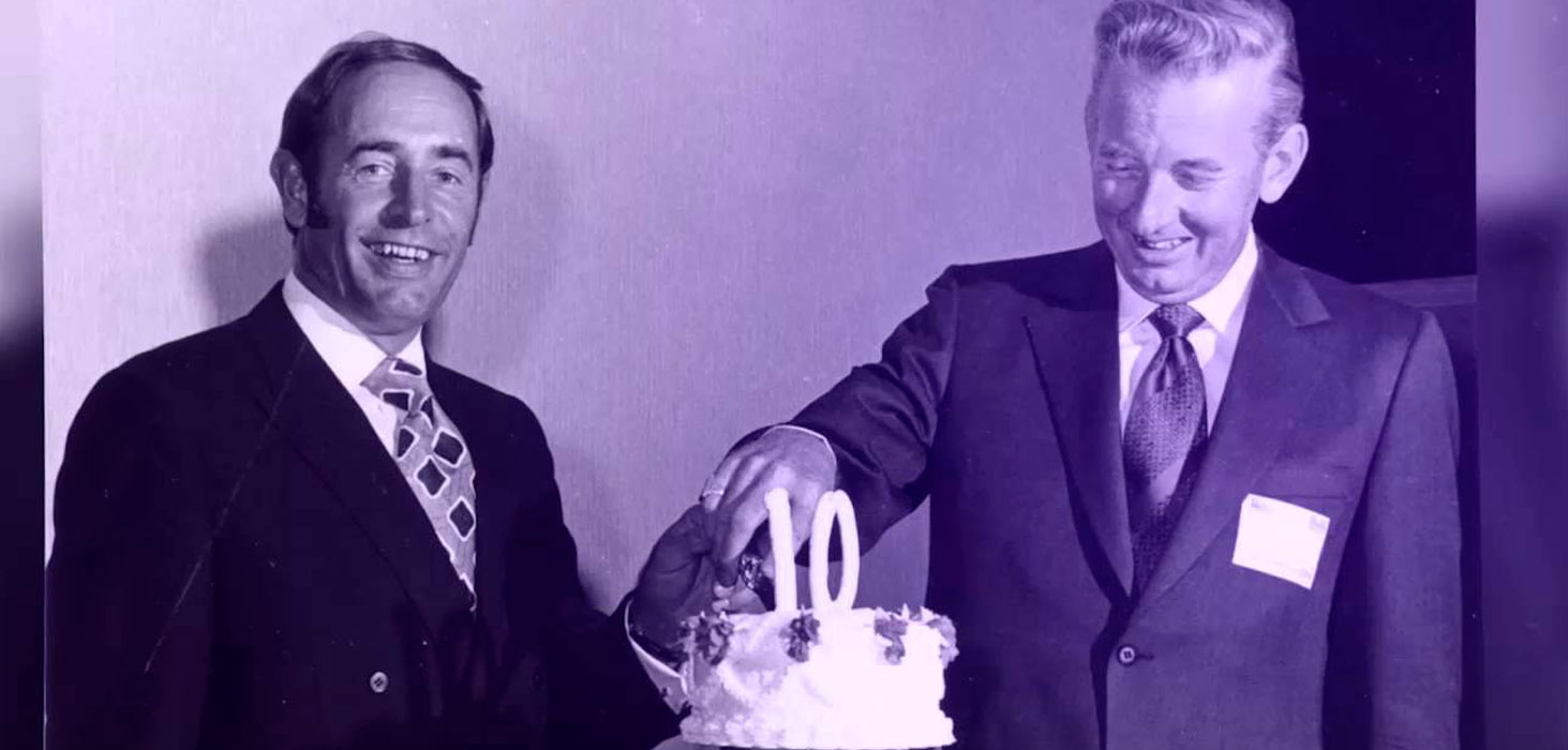 Rich Devos y Jay Van Andel, cofundadores de Amway