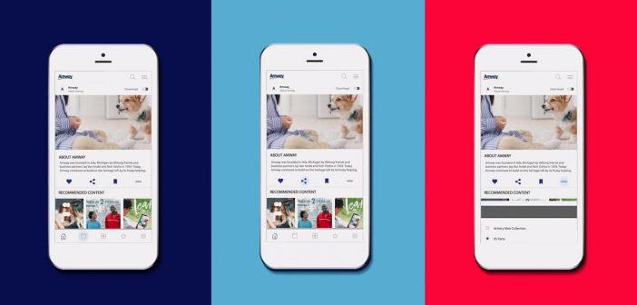 La nueva e integrada aplicación móvil de Amway