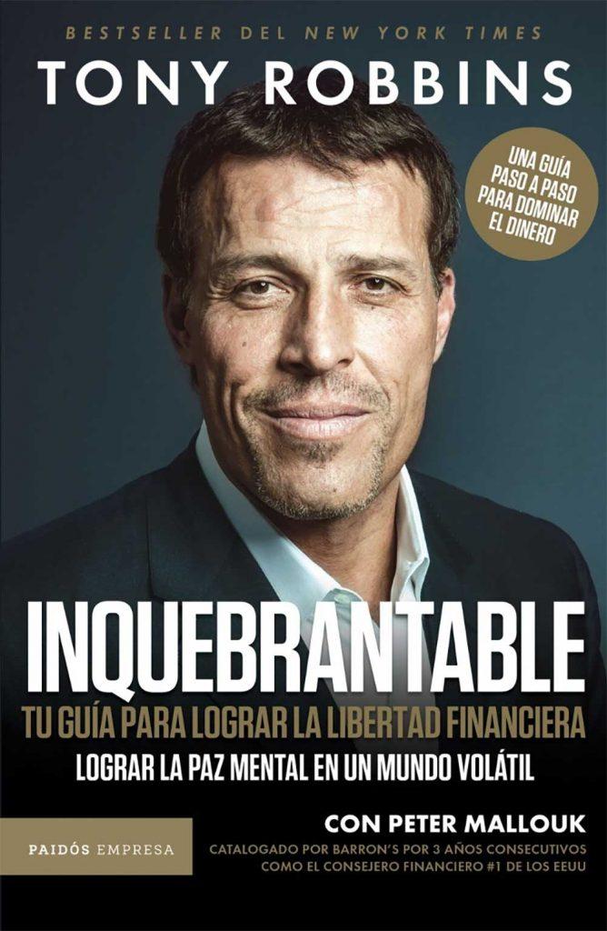 Inquebrantable, Libros de Tony Robbins
