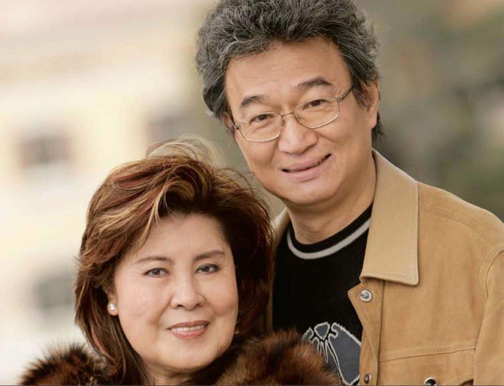 Barry Chi y Holly Chen en 2008