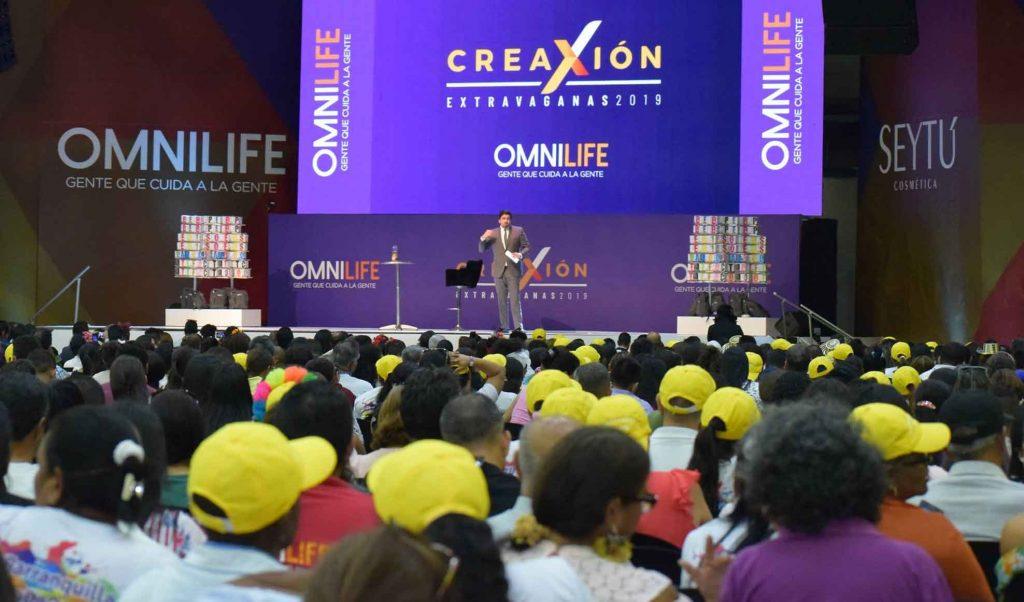 Extravaganza de Omnilife en Barranquilla, Colombia