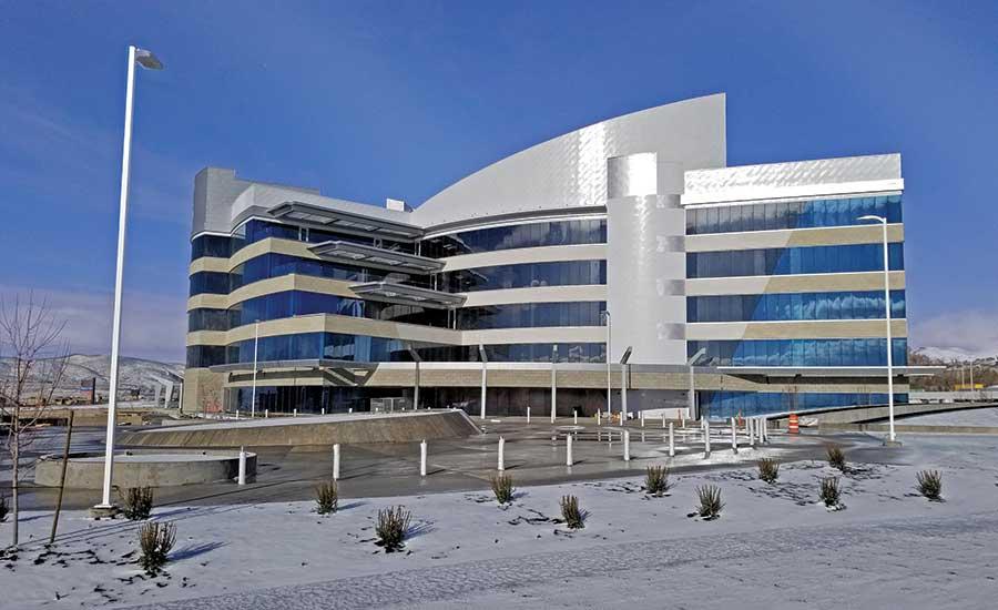 La nueva sede de Young Living en proceso de construcción