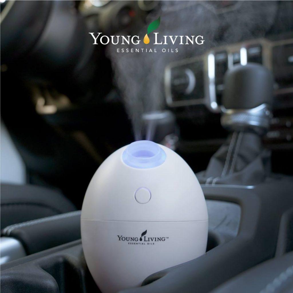 Difusor de aceites esenciales de Young Living