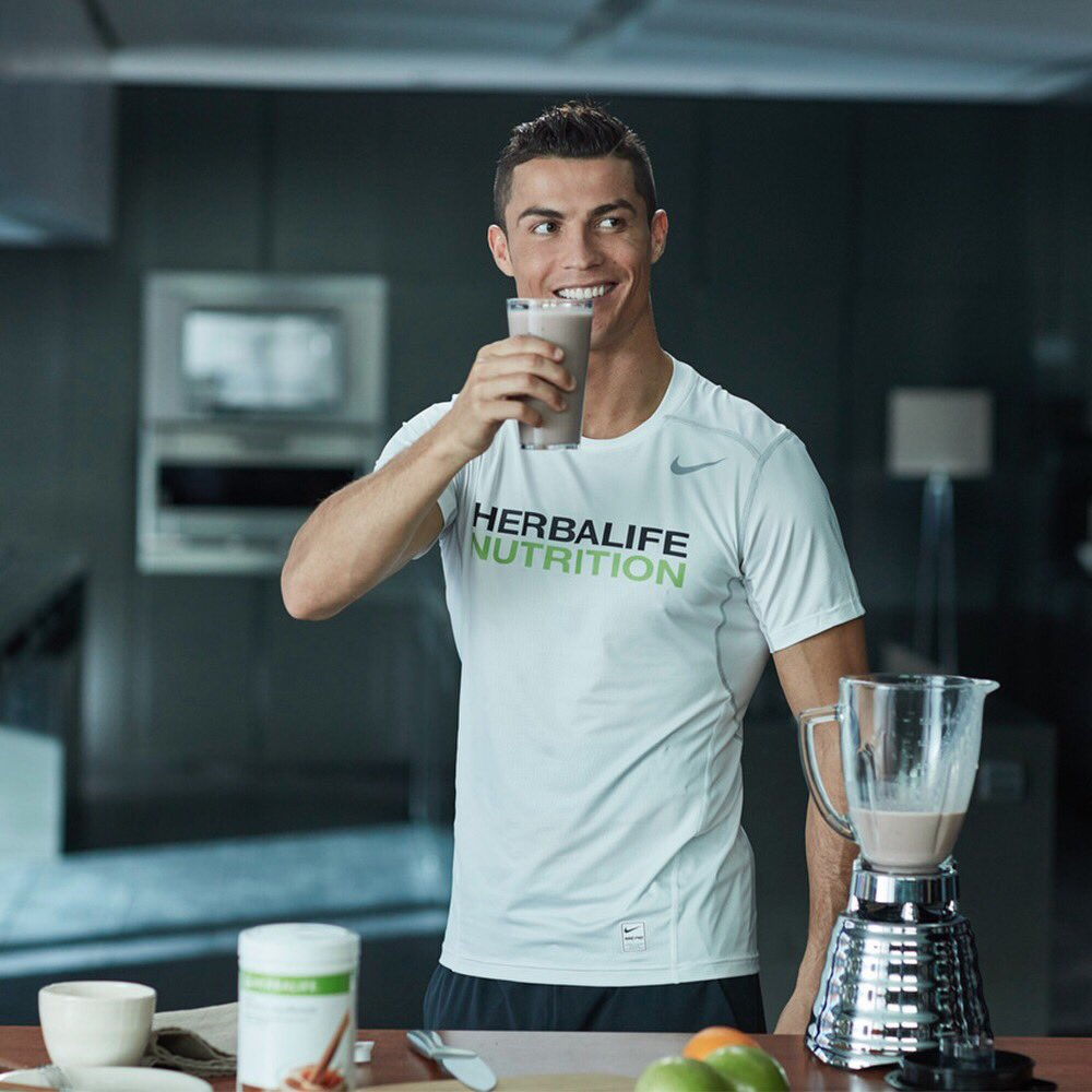 Herbalife y su patrocinio a Cristiano Ronaldo