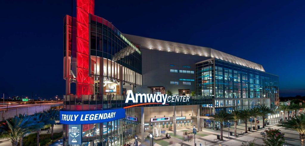 Amway Center, en Orlando, Florida.