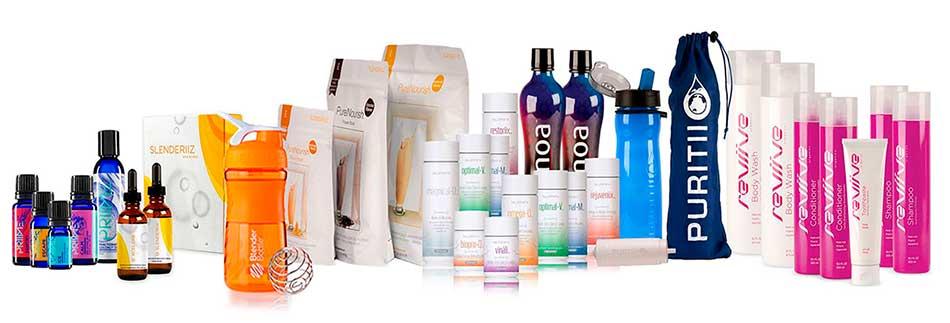 Algunos productos de ARIIX