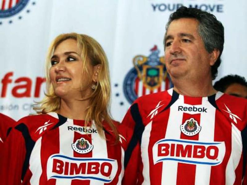 Angélica Fuentes y Jorge Vergara