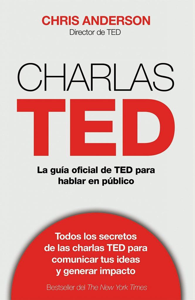 Charlas TED, libros para hablar en público