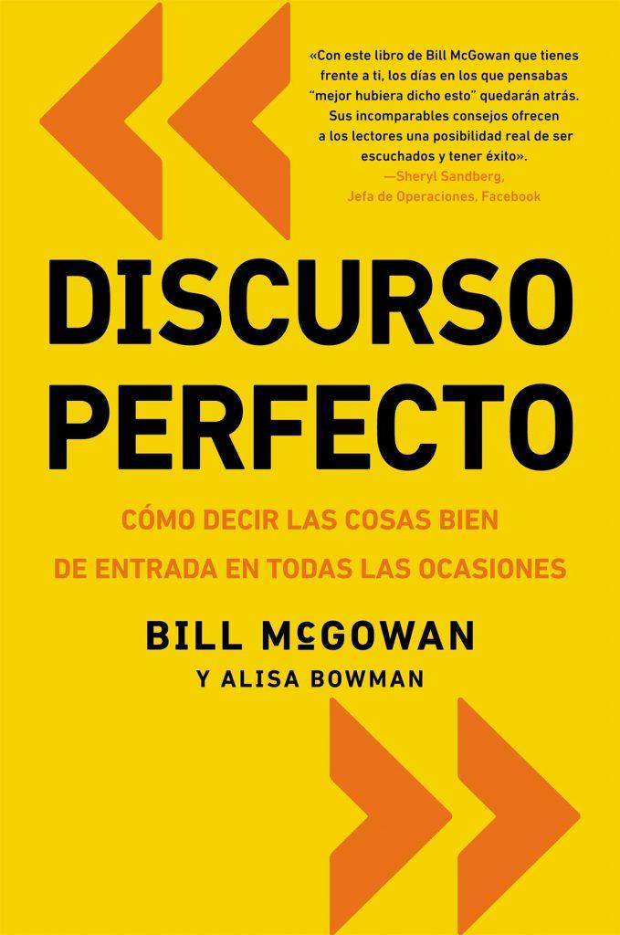 Discurso perfecto, libros para hablar en público