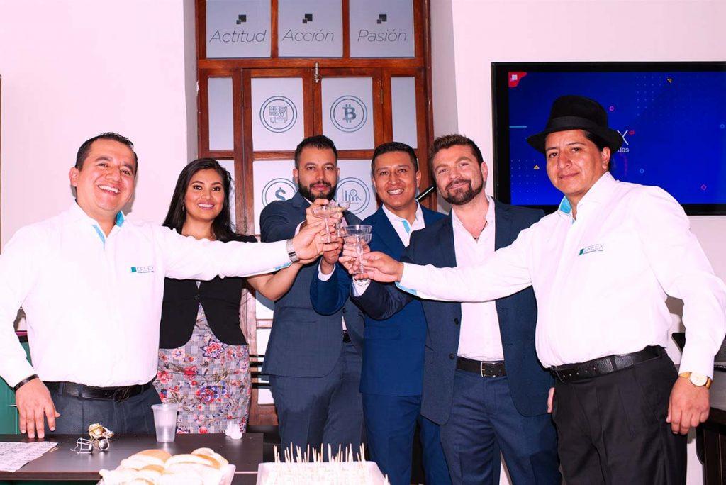 Lançamento da franquia CREEX no Equador