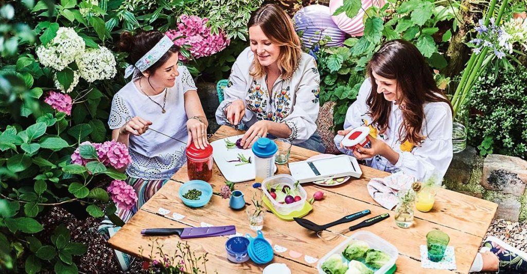 Tupperware sigue siendo una compañía muy relevante entre las mujeres