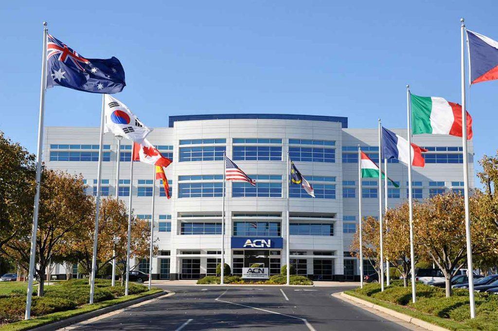 Sede mundial de ACN en Concord, Carolina del Norte.