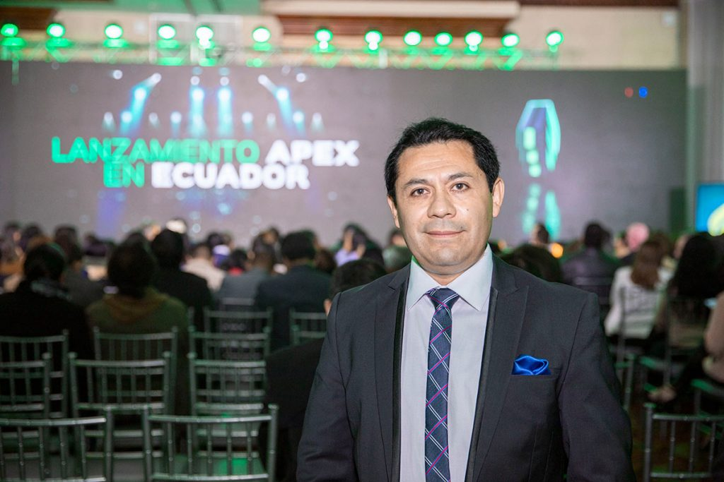Lanzamiento de APEX en Ecuador.