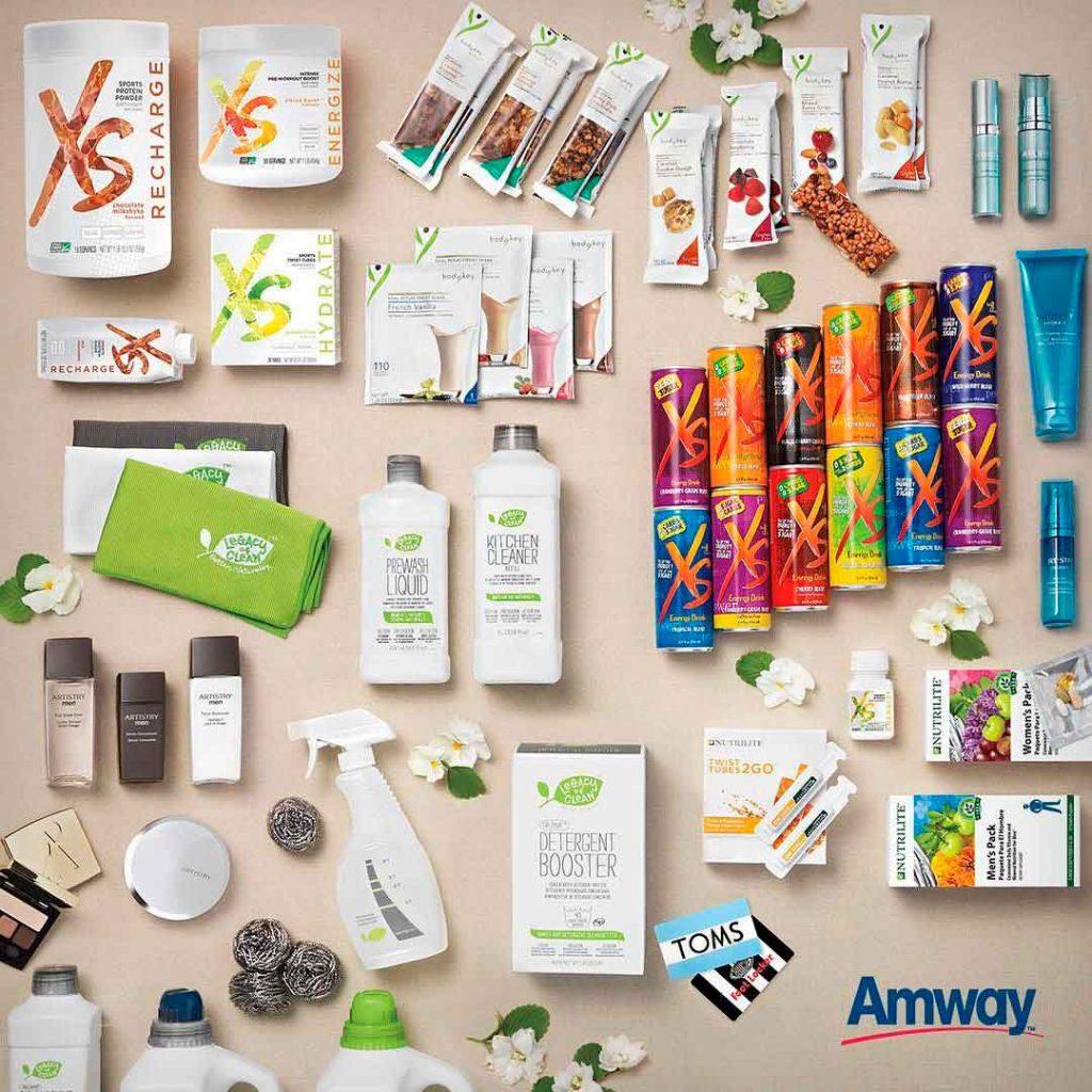 Amway cuenta con una gran variedad de productos.