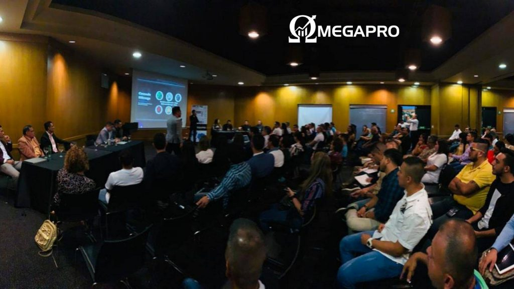 Evento OmegaPro na Colômbia.