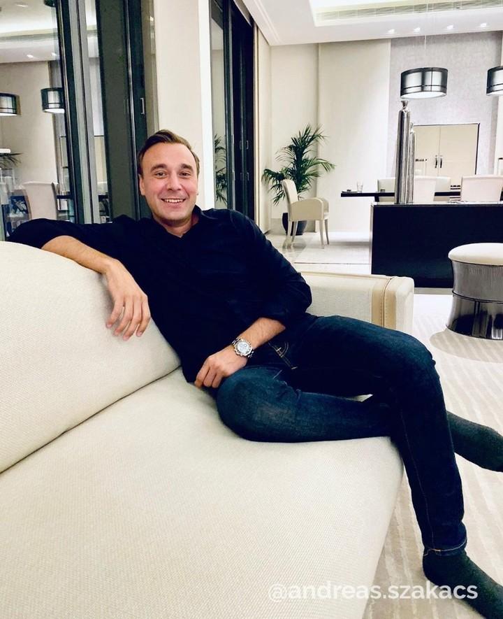 Andreas Szakacs, CEO da OmegaPro