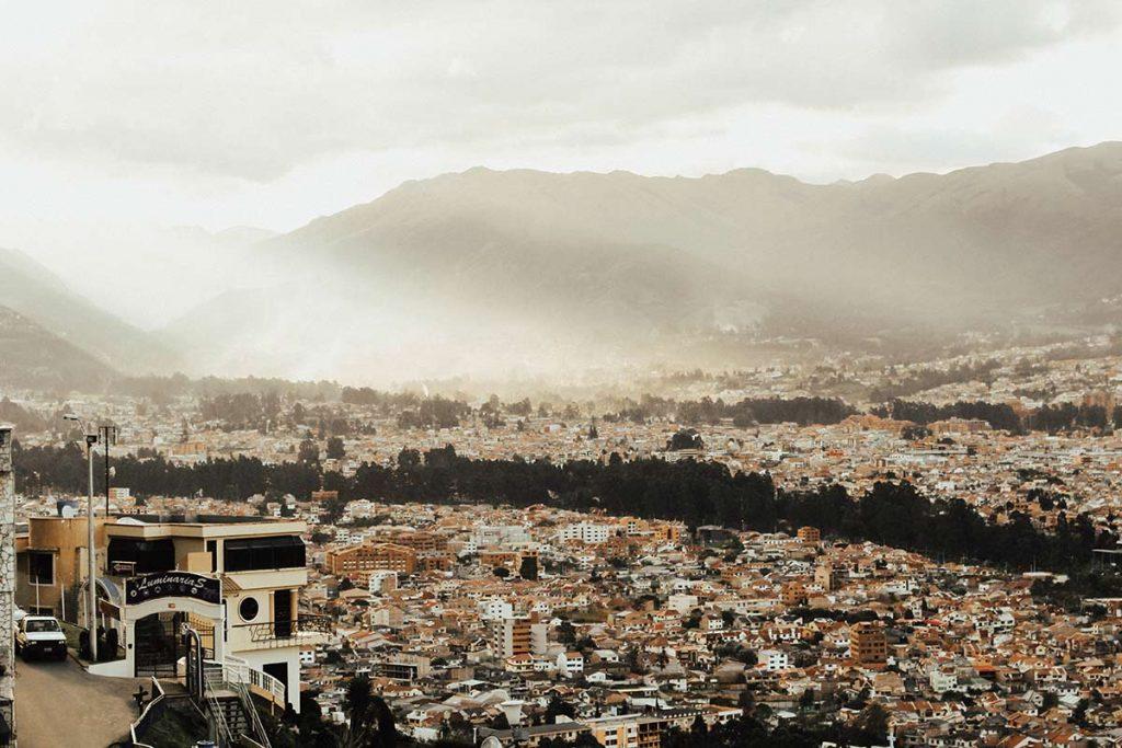 Ciudad de Cuenca, Ecuador.