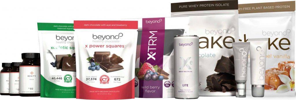 Productos de bienestar de Beyond
