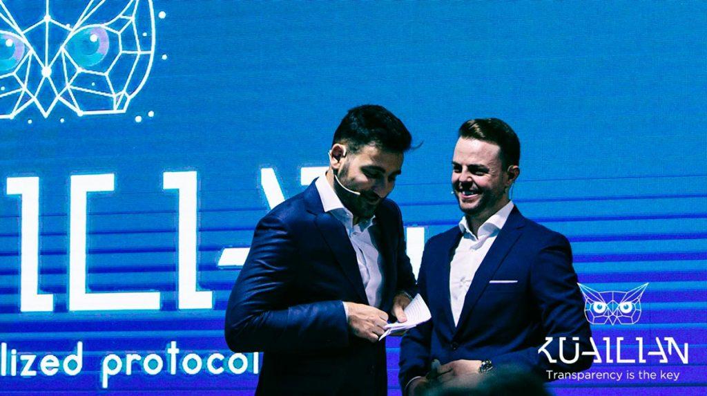 Javier Hermosilla e David Ruiz de León, co-fundadores da Kuailian DP
