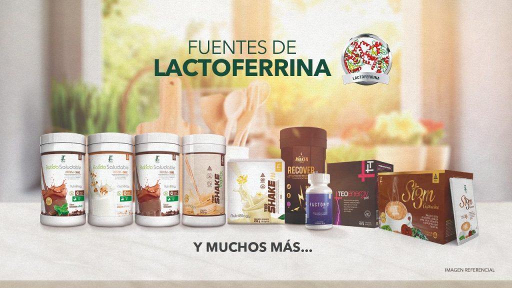 Fuente de lactoferrina